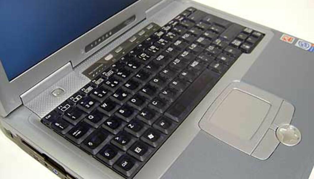 Vi er meget tilfreds med tastaturet på D6820