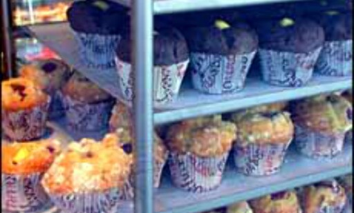 Skikkelige muffins som fyller magen, fra butikken muffins mm