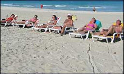 Vi vil helst til utlandet i sommerferien. Illustrasjonsbilde fra Cuba. Foto: Jon Erik Sæhle Foto: Jon Erik Sæhle