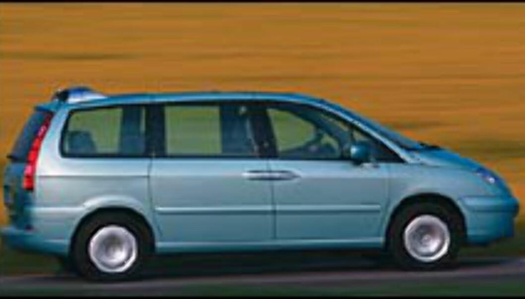 Citroën C8: Prisene klare