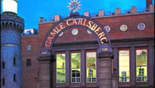 Gamle Carlsberg Bryggerier.<br /> <I>Foto: Carlsberg</I> Foto: Carlsberg
