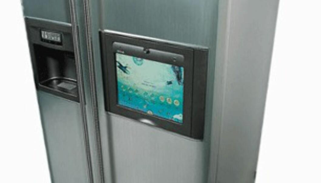 Bilde: Internett-kjøleskap