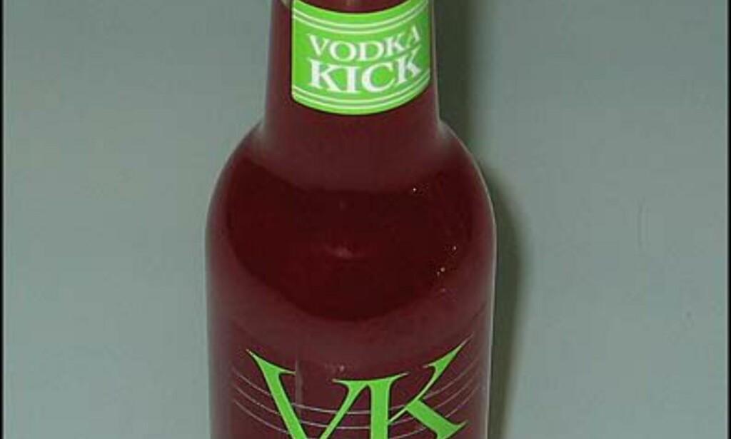 VK Vodka Watermelon. 23.- Falt IKKE i smak.