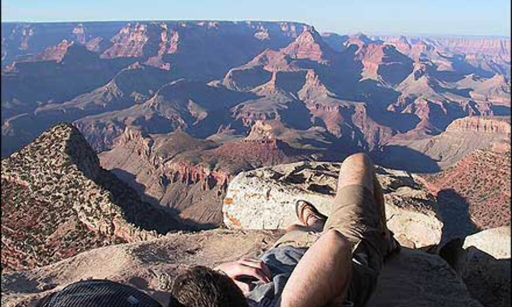 H: Utsikt over Grand Canyon - Petter Tofte Foto: Petter Tofte