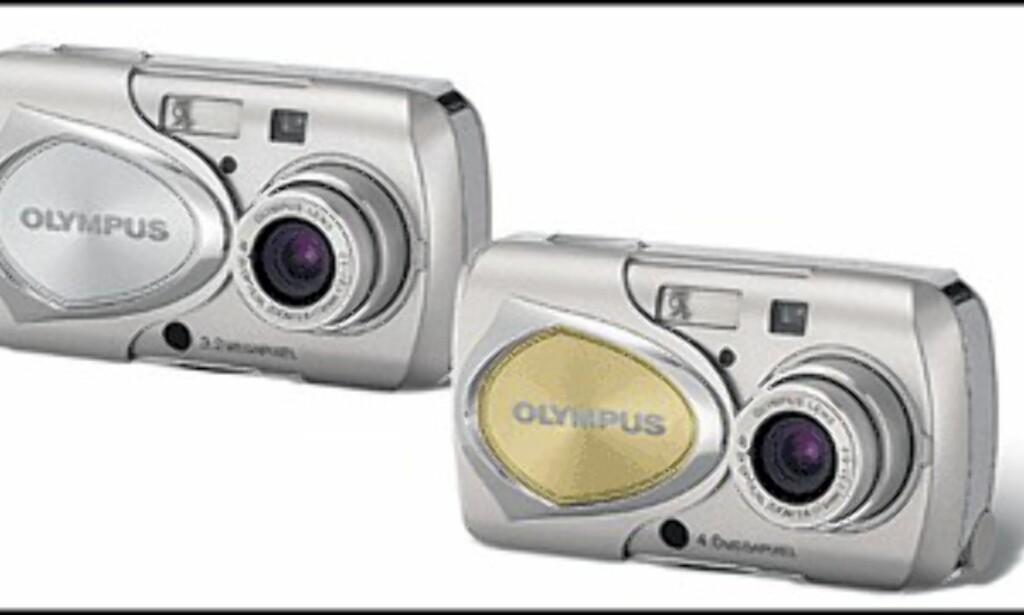 Olympus Stylus 300 og Stylus 400.