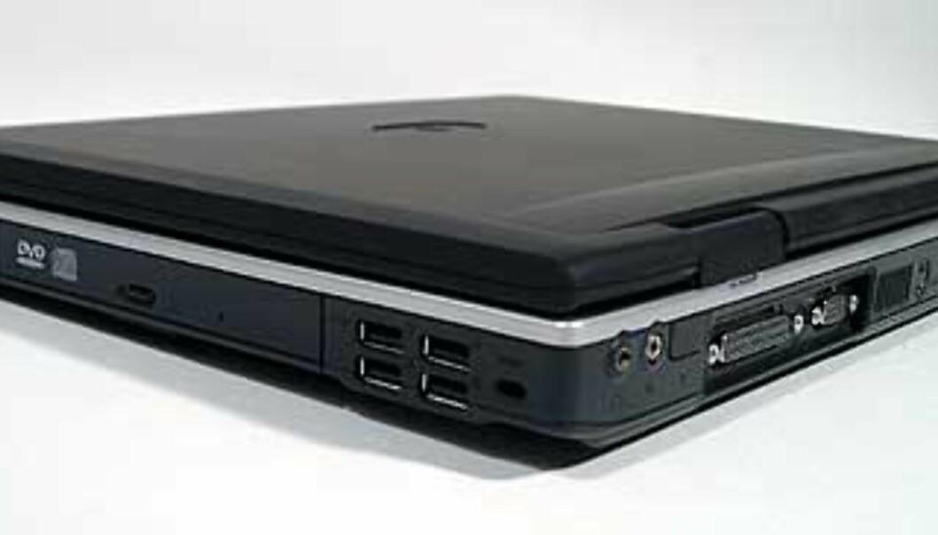 Green 732 har en rekke tilkoblingsmuligheter, som for eksempel 4 stk USB2.0-porter.