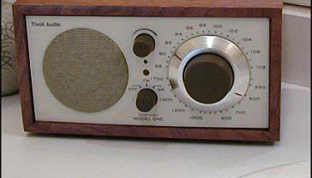 Model One AM/FM<br />  Pris = 1.295.-