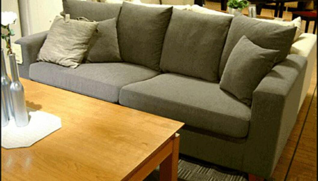 <center>Genova heter denne sofaen. Prisen er 6.990 kroner hos Skeidar.