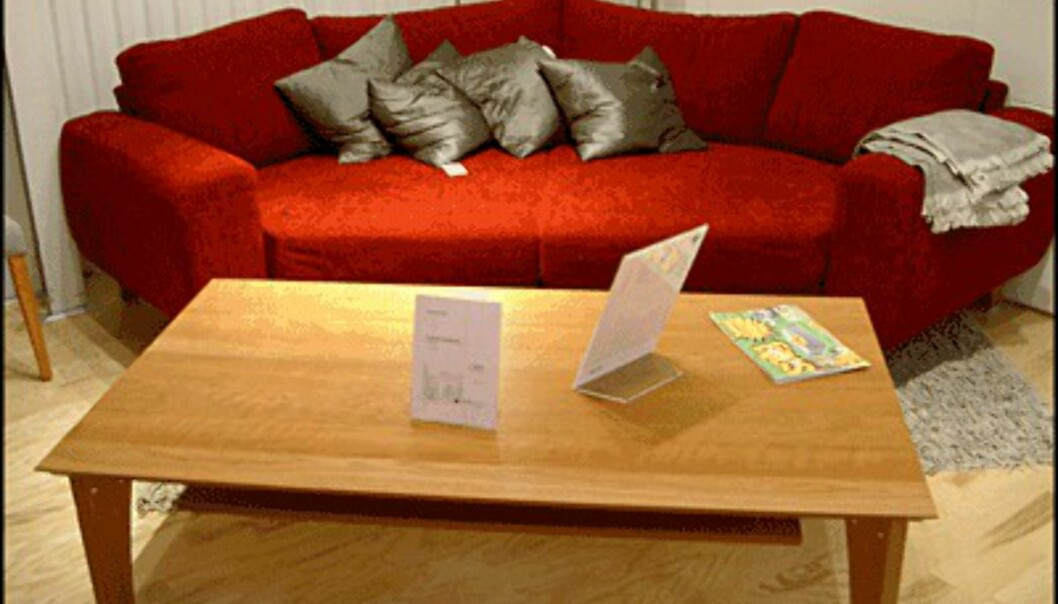 <center>Sofaen Indivi fra Club 8 er stor og forseggjort. Den koster 24.395 kroner. Klikk deg videre for å se billigere designmøbler. (Alle foto: Dag Yngve Dahle)