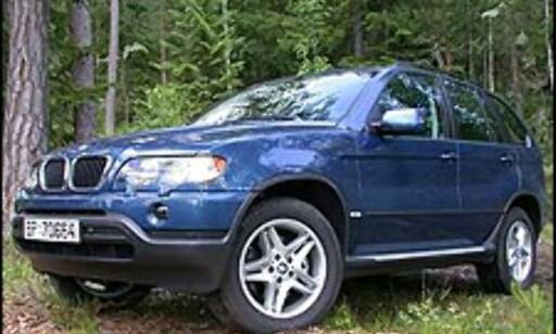 FOR USA: BMW X5 er en av mange SUVer som er utviklet med tanke på det amerikanske markedet.