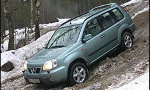 image: 2. Nissan X-Trail: Den muskuløse