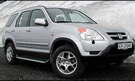 VINNER: Honda CR-V er vår favoritt blant de høye firehjulstrekkerne i 300.000-kronersklassen.