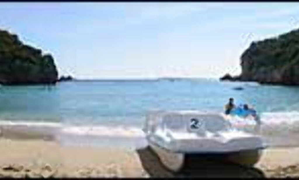 Frode Jacobsen har montert et panorama fra Kalastrasi beach på Korfu. Foto: Frode Jacobsen