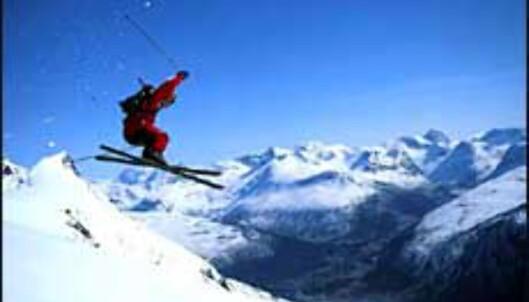Heftige skiopplevelser i Narvik.<br /> <I>Foto: narvikinfo.com</I>
