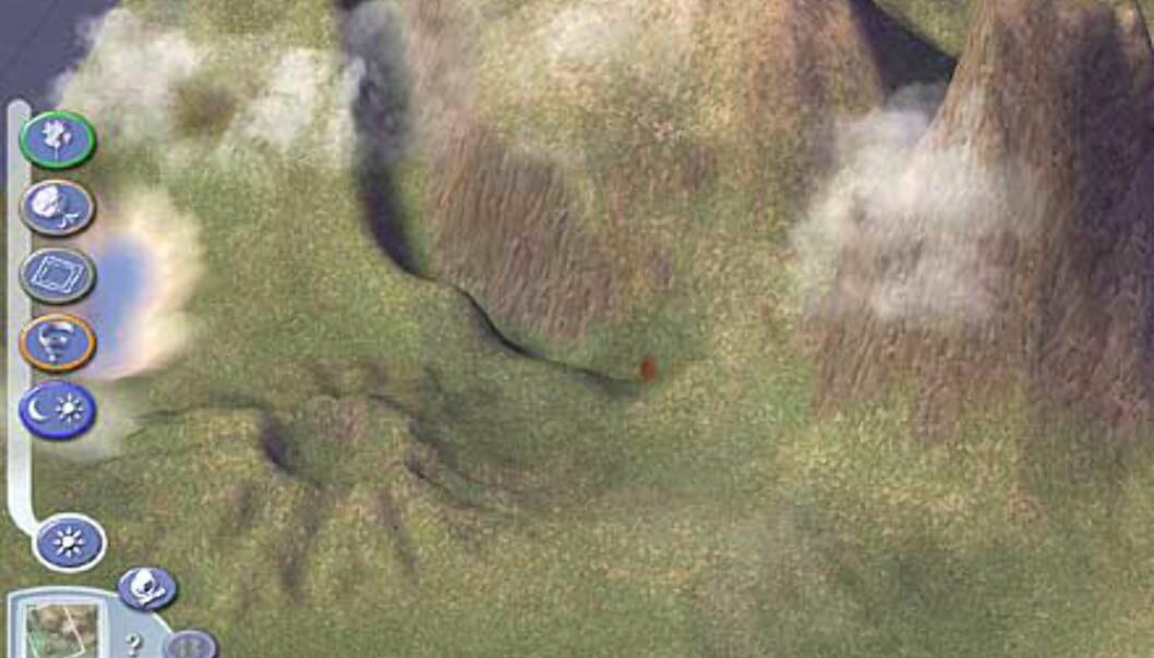 Bilde - Du kan forme terrenget akkurat som du vil