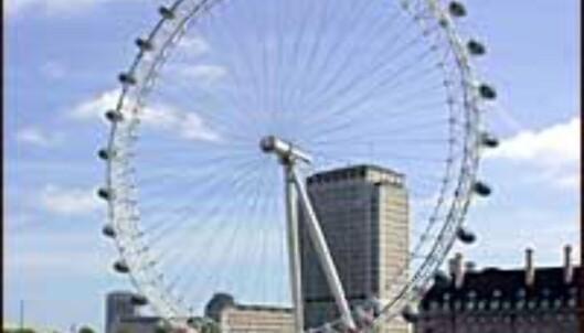 Londons fremste turistattraksjon, ikke noe problem å sjekke ut den i vinterferien.