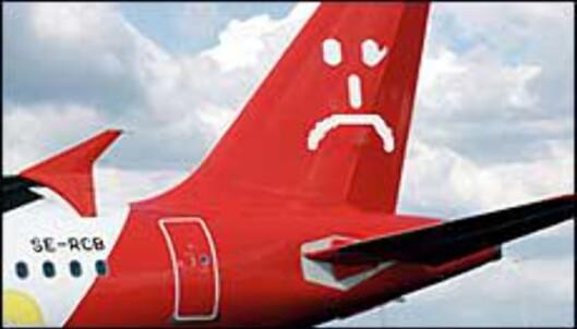 Alle tegn tilsier at Goodjet går konkurs en av de nærmeste dagene. <I>Illustrasjonsbilde</I>