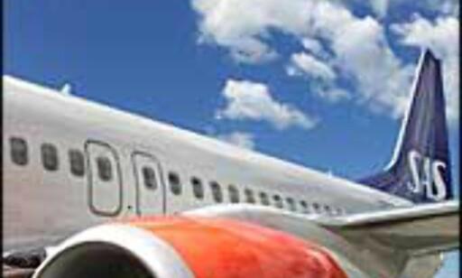 BOEING 737-800: Det er slike fly som skal transportere SAS' lavprispassasjerer, men dekoren blir annerledes.