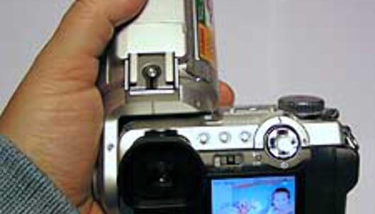 Slik er kameraet i bruk
