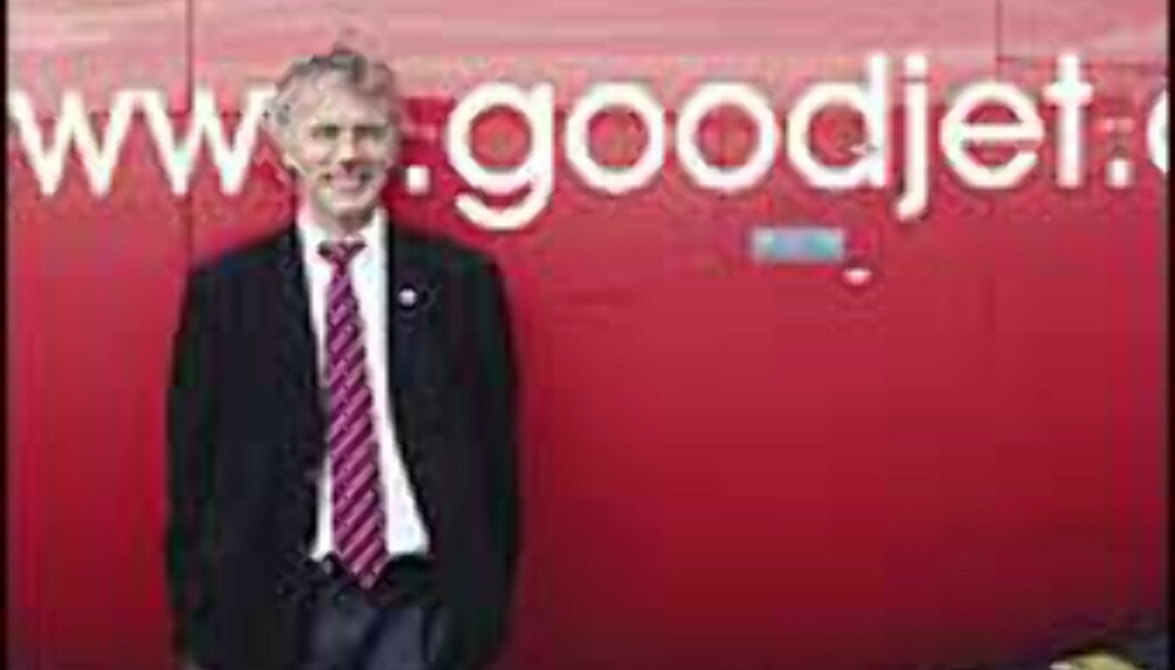 Reidar Svedahl, Goodjets norske sjef, har gått av. <I>Foto: Goodjet</I>
