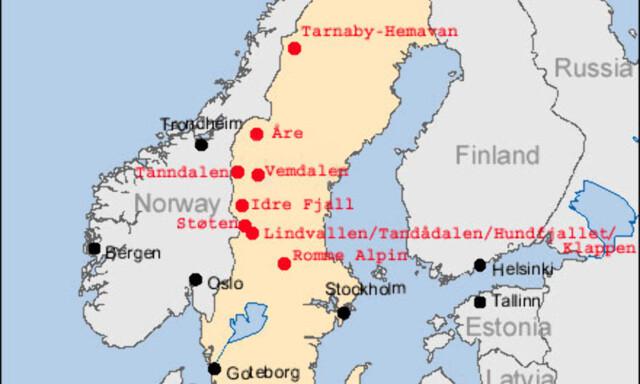 gardermoen kart Vinter: Kart og avstander   DinSide