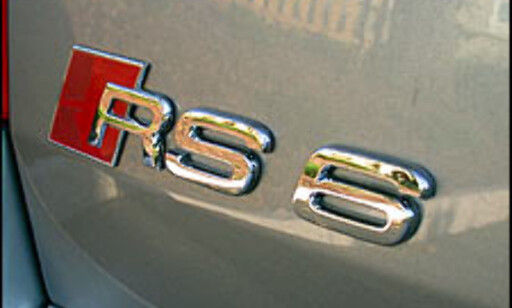 image: TEST: Audi RS6
