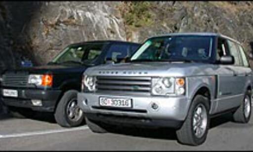 TØFF OG MODERNE: Nye Range Rover er både større, tøffere og langt mer moderne enn sin forgjenger.