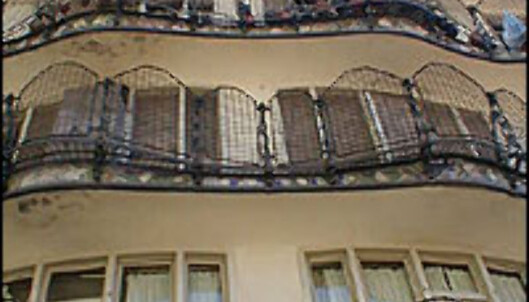 <strong>CASA BATLLÓ:</strong> I det spesielle Casa Batllós bakgård.<br /> <I>Foto: Inga Ragnhild Holst</I>