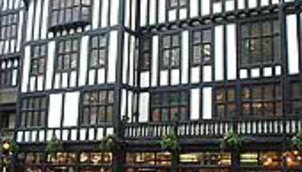 Tips om både overnatting, shopping og hva du kan se i storbyer får du blant annet fra DinSides lesere. Her ser du kjøpesenteret Libertys i London. <I>Foto: Stine Okkelmo</I> Foto: Stine Okkelmo