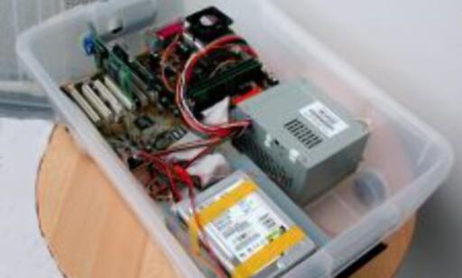 image: Bygger PCer i plastkasser