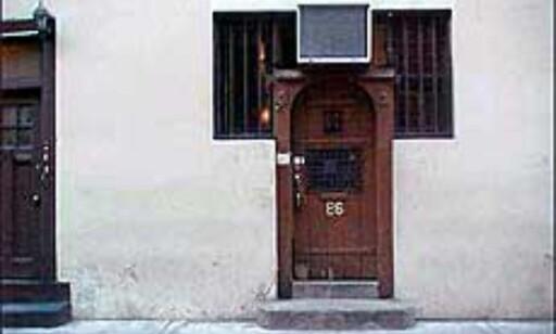 Chumleys er kjent fra forbudstiden (1920 til 1933) og har fortsatt ingen skilter som viser vei. Foto: Celeste Joye