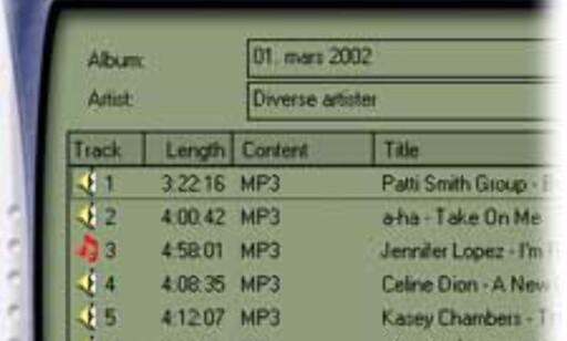 Dra & slipp musikkfilene fra Utforsker til programvinduet, og trykk på Create CD-knappen. Enklere får det ikke blitt.