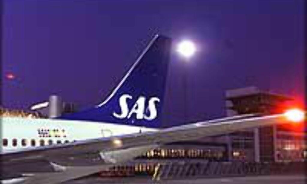 Billigere med SAS i Sverige enn i Norge, på tilsvarende strekninger.