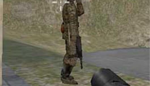 Tyske soldater tar seg gjerne en røyk