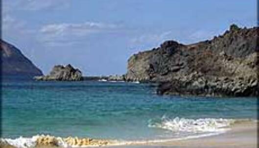 På Isla Graciosa er det mulig å finne en strand for seg selv.