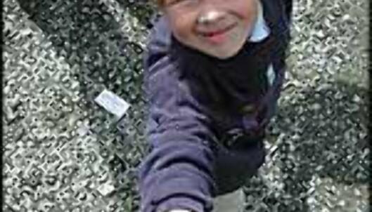 Emil Røise Holst, 7 år, mener Tibidabo er jevngod med danske Legoland.