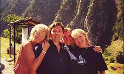 Daglig leder i Carpe Diem, May Meyer, til venstre i dette bildet fra Pyreneene. Foto: Carpe Diem Foto: Carpe Diem