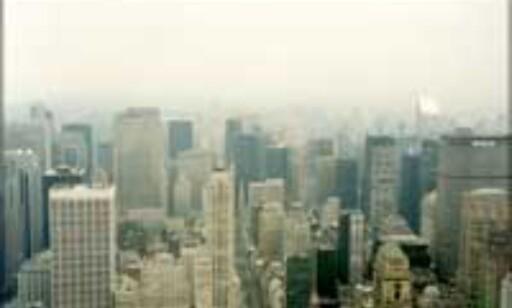 Utsikt fra Empire State Building, før terroren rammet New York. Foto: Karoline Brubæk