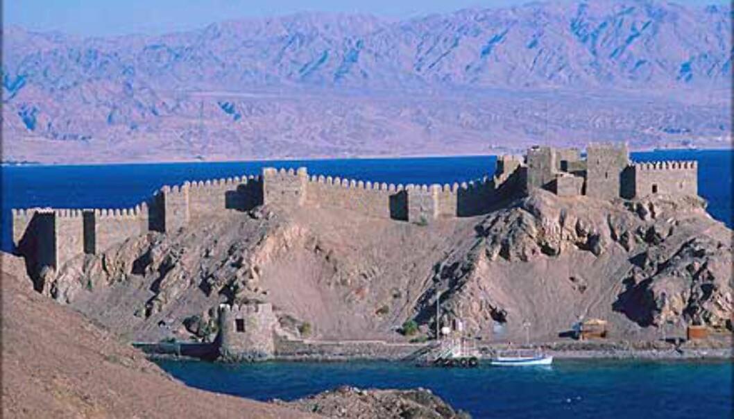 Egypt er mer en pyramider. Taba fort i Sinai.<br /> <I>Foto: Haakon Stenersen</I> Foto: Haakon Stenersen