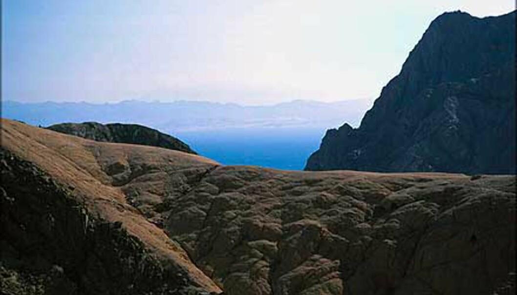 Gnaidalen - utsikt mot Rødehavet.<br /> <I>Foto: Haakon Stenersen</I> Foto: Haakon Stenersen