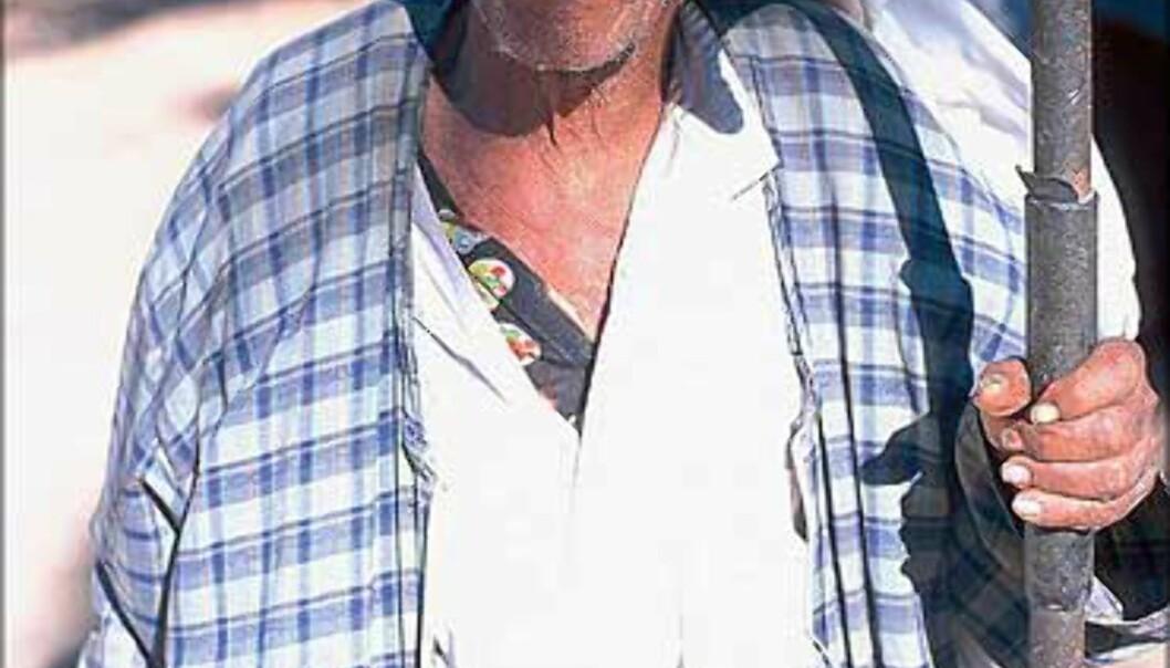 En beduin fra Dahab i Sinai.<br /> <I>Foto: Haakon Stenersen</I> Foto: Haakon Stenersen