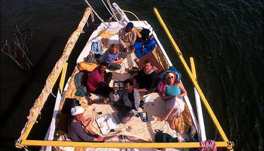 - Et cruise på Nilen er absolutt å anbefale, sier Stenersen.<br /> <I>Foto: Haakon Stenersen</I> Foto: Haakon Stenersen