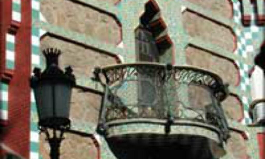 Casa Vicens fra 1885 er et av arkitekten Gaudis verk.