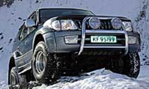 image: TEST: Toyota LC 90 Arctic Trucks