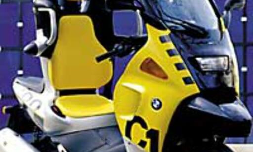 image: BMW C1 med mer trøkk