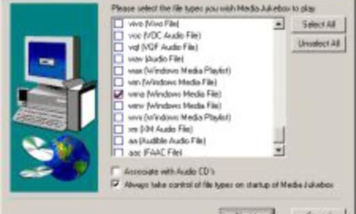 Media Jukebox håndterer langt flere formater enn konkurrentene