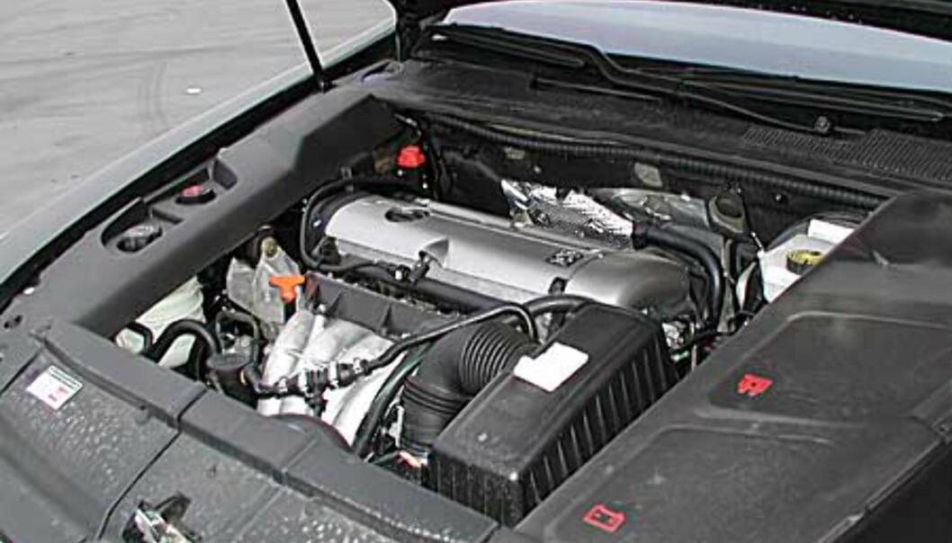 Stort bilde av motor