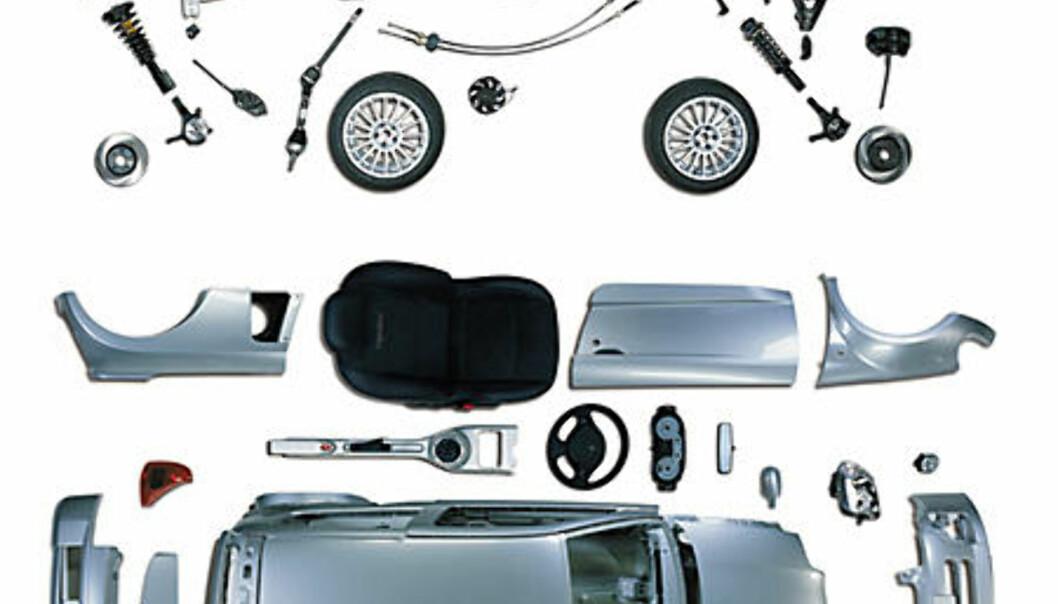 Stort bilde Clio Sport V6 stylingdelene