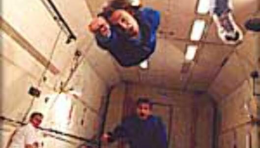 Fly som supermann med null gravitasjon.<br /> Foto: Space Adventures Foto: Space Adventures