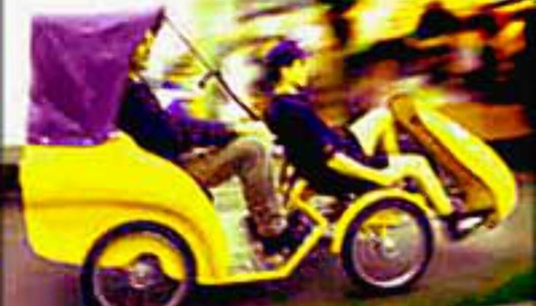 """""""Catch the bug"""" - Londons mest miljøvennlige transportmiddel?"""